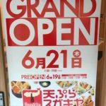 【本日プレオープン】天ぷらスガキヤに行ってきた!【話題の専門店】